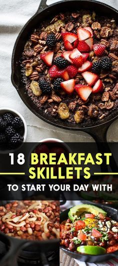 18 Breakfast Skillets To Start Your Day With from BuzzFeed.  (Thanks for the mention!)