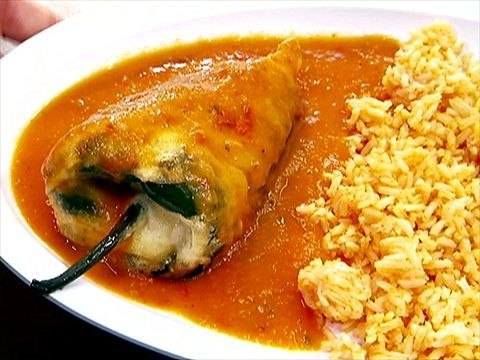 Chile Relleno  Recipe courtesy Carla Rodriguez, owner of Mom's Tamales in Los Angeles, CA.