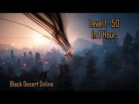 Black Desert Online Level Up 1 50 In 1 Hour Ft Lahn Level Up Online Black