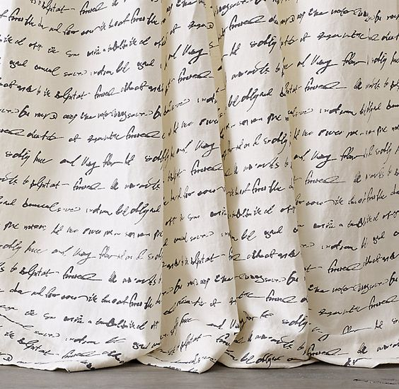 Manuscript Drapery Panel
