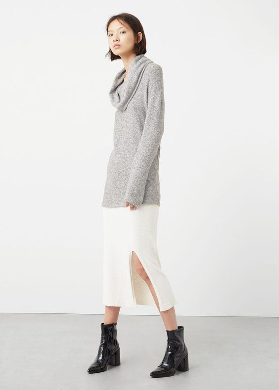 Pull-over col bénitier - Cardigans et pull-overs pour Femme | MANGO France