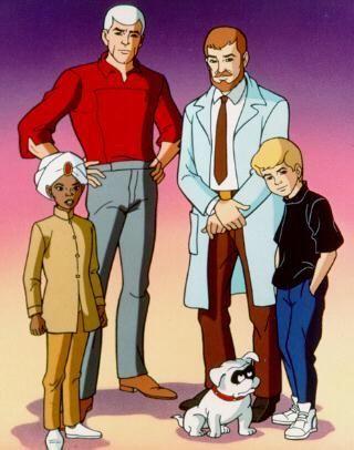Johnny Quest Cast Photo