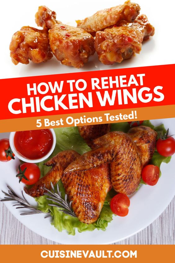 How To Reheat Chicken Wings 5 Options In 2020 Chicken Wings Reheat Chicken Chicken