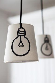 mommo design: DIY LAMPS FOR KIDS | best stuff #diy #decor