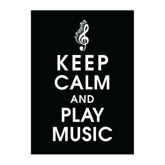 Play music.