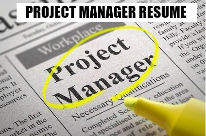 Project Manager Resume Sample Project Manager Resume Marketing