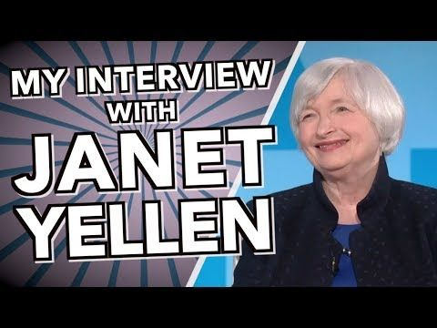 new economics video posted by youaccel media on youaccel in 2020 janet yellen interview online student pinterest