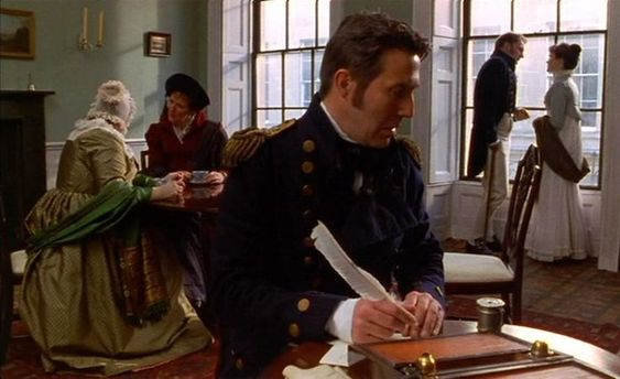 Persuasion (1995) starring Amanda Root and Ciaran Hinds (my favorite part of both the movie and the book!)