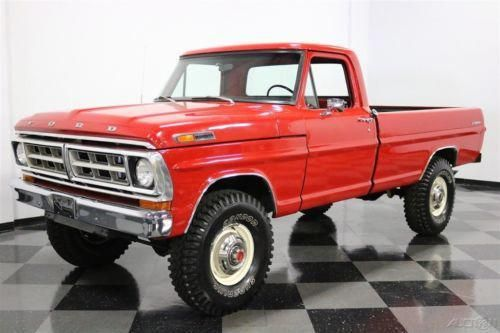 1970 Ford F 250 Highboy Pickup Truck Vintage Classic 1970s