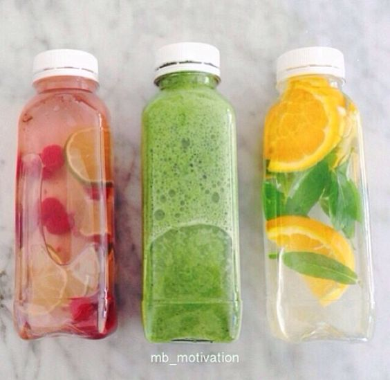 Cuuute, as well as juice and smoothies, you can make infused waters by slicing fruit into your water! Try it with orange and/or cucumber :) #juice #infusedwater #smoothie