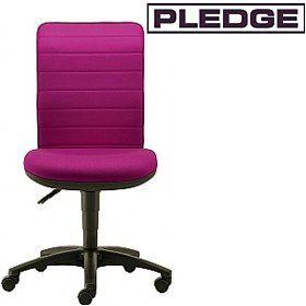 Pledge Air Ribbed Back Custom Task Chair  www.officefurnitureonline.co.uk