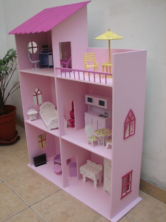 Casa de barbie 3 casas mu ecas pinterest chang 39 e 3 - Casa de barbie ...