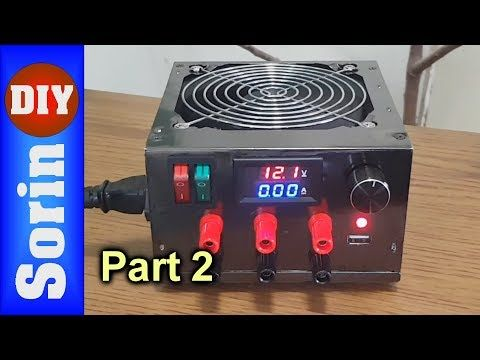 Part 2 Diy Lab Bench Power Supply Youtube Computer Power Supplies Power Supply Electronic Circuit Projects