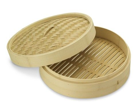 Bamboo Steamer Basket (several tiers)