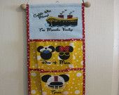 4 Pocket Fish Extender For Your Disney Cruise - Pick Colors, Top & Pocket Designs With Names. $45.00, via Etsy.