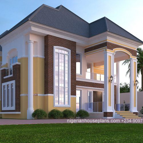 4 Bedroom Flat Design In Nigeria | Keepyourmindclean Ideas