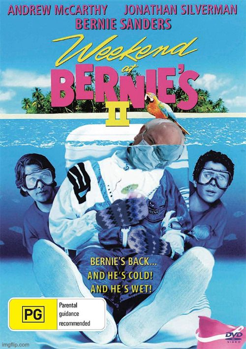 Pin By Cal Bridges On Movie Posters In 2021 Weekend At Bernies Weekend At Bernies 2 Bernie Movie