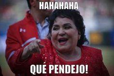 Cuando alguien se cae enfrente de ti: | 17 Memes de Carmen Salinas que puedes usar para cualquier ocasión