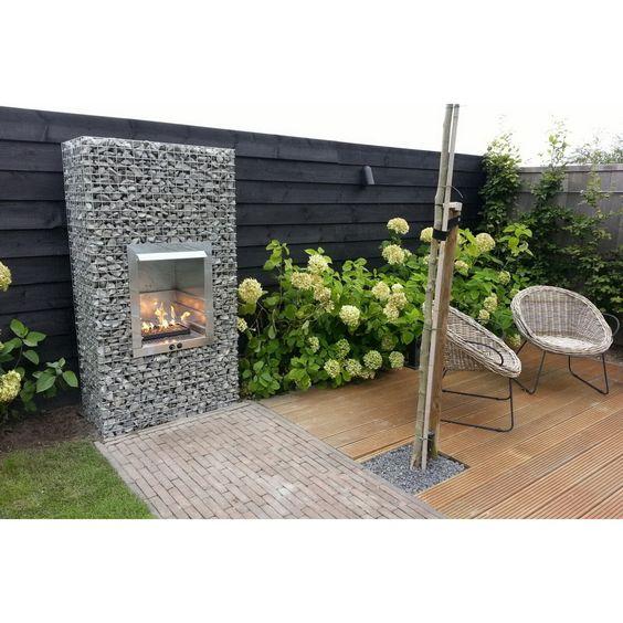Garten Gaskamin mit schöne design für ihr haus design ideen