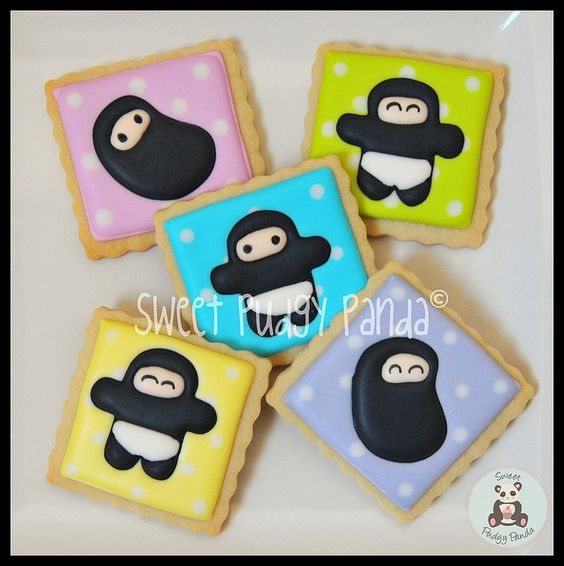 NinjaTown cookies by @sweetpudgypanda