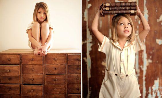 Laneya Grace as a kid by Rus Anson