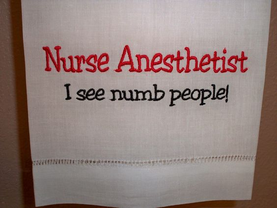 Nurse Anesthetist Sees Numb People College Pinterest Nurse - anesthesiologist nurse sample resume