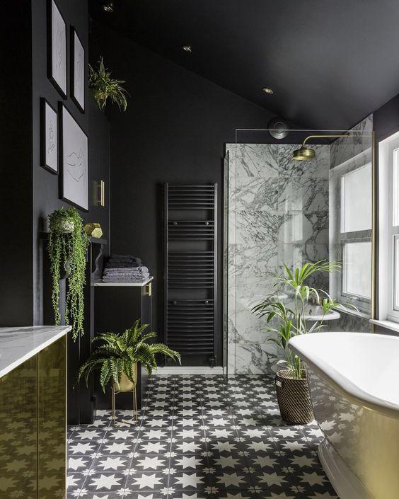 Những mẫu gạch lát nền đen trắng đẹp nhất 2021-06