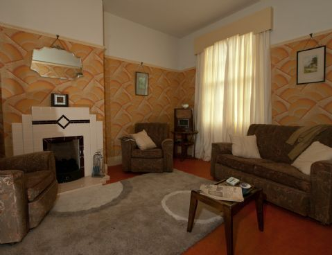 1930s house interiors. 1930s interior at the BCLM  Vintage Rooms Pinterest Interiors and house