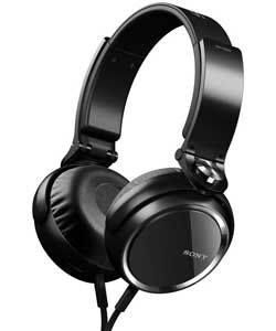 Sony MDR-XB600 Over-Ear Noise Cancelling Headphones - Black.