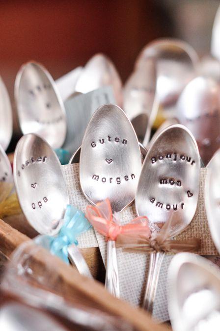 Zurich Christmas Markets. Vintage spoons. Engraved antique spoons   eatlittlebird.com