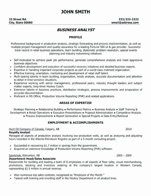 Business Analyst Resume With No Experience Beautiful Business Analyst Resume Entry Level Entry Business Resume Business Analyst Resume Business Resume Template