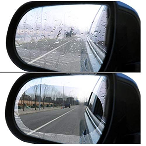 Anti Fog Rain Mist Waterproof Clear Car Rear View Mirror Window Protective Film