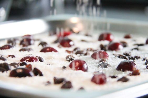 Kokos over Yoghurt snack, idee tip om vanille eraan toevoegen.