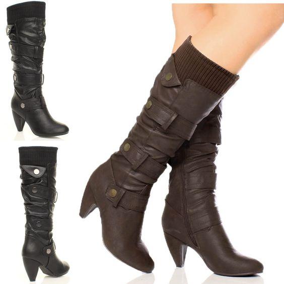 botas femininas de cano longo 3