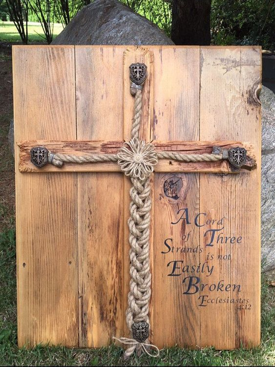ONE DAY ONLY SALE!! Save $20!!! SALE ENDS AT MIDNIGHT!!!  The Designs Shoppe has created a new item!!!  This is original prices! No personalization only scripture: $160 Names: $165 Names with date: $170  The Braiding of the Rope Wedding Ceremony symbolizes the joining of the man and woman with God into a strong unbreakable marriage relationship. Marriage is a covenant between the three of you, and the rope being braided shows how strong all three are together!  During the wedding ceremony…