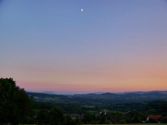 Moon over Cernex #Haute-savoie #France