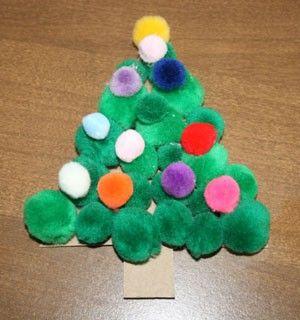 Cute Kids and Preschool Christmas Crafts