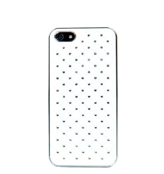 Emily Quilted iPhone Case white. http://zocko.it/LE5UT