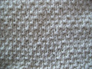 Sand Stitch Pattern (worked in multiples of 2)  || Worked Flat and In the Round || Row 1 & 3: knit all stitches; Row 2: * k1, p1 * repeat; Row 4: * p1, k1 * repeat;   Repeat Rows 1-4 to desired length