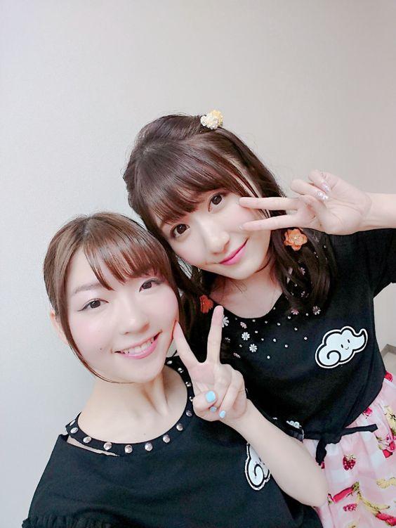 小澤亜季さんと日高里菜さん