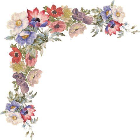 Esquinas florales .... Hable con LiveInternet - Servicio Rusos Diarios Online: