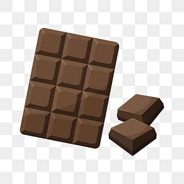 Chocolate Bar Vector Illustration With Flat Style Candy Clipart Vector Sweet Png And Vector With Transparent Background For Free Download Chocolate Cube Chocolate Cartoon Clip Art