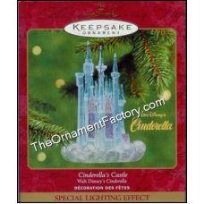 2001 Cinderellas Castle, Disney | Hallmark Keepsake Ornaments | The Ornament Factory