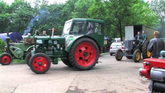 Traktoren in Action 1/3 von Lanz Bulldog, Fendt & Co. - Vintage Tractor