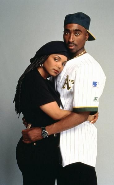 """Janet & Tupac in the movie, """"Poetic Justice"""" // www.babesngents.com // #babesngents"""