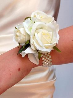 rose wrist corsage ideas - Google Search
