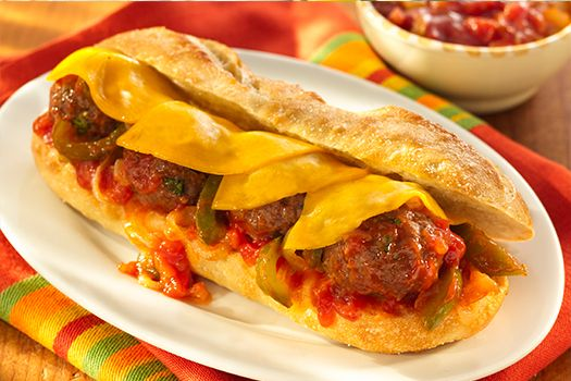 Sliced Meatball Panini Recipe — Dishmaps