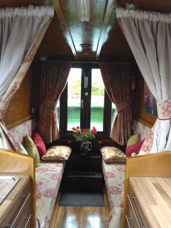 Gypsy Interior Design Dress My Wagon| House Boat Living-Design Inspiration-60ft Cruiser Style 2012 Narrowboat
