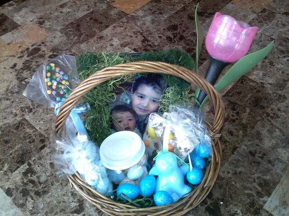 Diy Easter Basket for an adult By Shannon Vivero