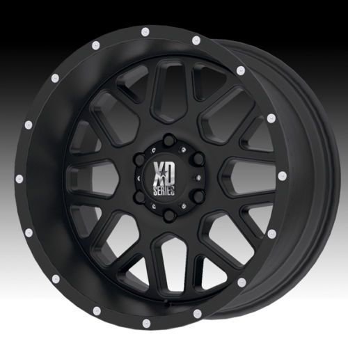 xd series xd grenade   mm satin black wheels rims satin wheels  wheel rim